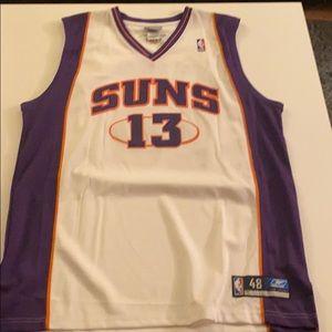 Reebok Authentic Jersey Steve Nash Suns size 48.